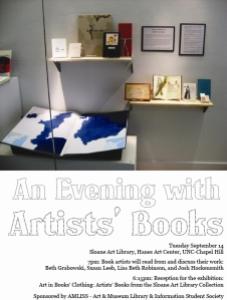 AMLISS Artist Books Flyer