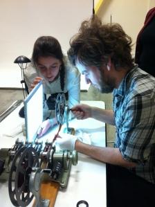 Film handling workshop with George Eastman House