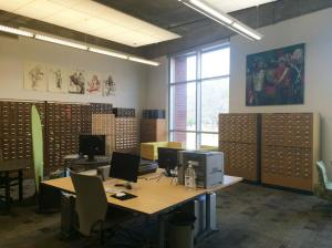 Visual Resources Center, Lamar Dodd School of Art, University of Georgia. Image courtesy of Courtney Baron.